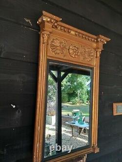 A Super Shabby Chic 19th Century Wall Mirror Peer Mirror Regency Style
