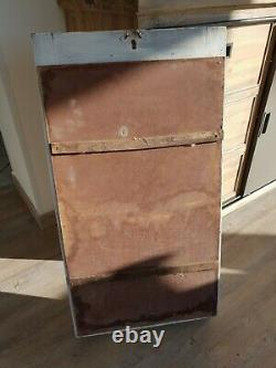 Antique Window Mirror Large 45 x83 cm Shabby Chic Wall Hung
