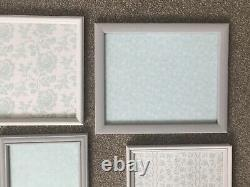 Collection Grey Shades Photo Picture Frames Gallery Wall Shabby Chic