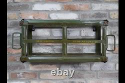 Industrial Wall Shelf Retro Vintage Green Shelf Storage Unit 7738