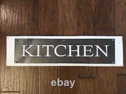 Kitchen Sign Wood Iron Plaque Kitchen Wall Decor, Rustic, Shabby Chic, Farmhouse