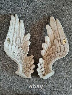 Large Angel Wings Wall Art Home Hanging Heavy High Quality