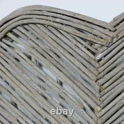 Large wicker heart wall art decor shabby chic country home decoration love gift