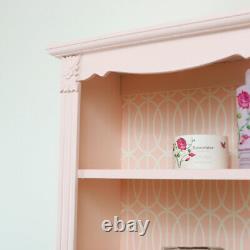Ornate Pink Wall Shelf vintage storage shabby chic shelving unit bathroom decor