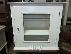 Pensile Cucina Mensola Piattaia Shabby Chic Old Wood Kitchen Wall Cabinet
