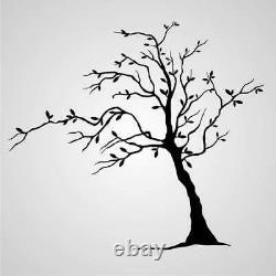 SINGLE TREE BIG SIZES Reusable Stencil Wall Decor Romantic Shabby Chic / T00