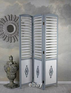 Spanish Wall Fins Screen Wood Shabby Chic Partition Screen Antique
