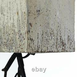 The Mayday Twig Tree Branch Wall Sconce with Shabby Chic White Shade