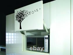Tree Full of Birds BIG SIZES Reusable Stencil Art Wall Decor Shabby Chic / T46