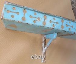 Vintage Iron Wall fixing Lintel Shelf Rack Rustic Shabby chic decor display