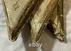 Vintage Turner Victorian Shabby Country Cottage Chic wall hanging set matching 3