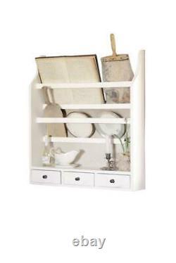 Wall Cabinet Display Case Hanging Shelf Shabby Chic Hanging Wardrobe Shelf