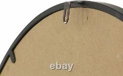 Wall Clock 32 Large Roman Numerals Metal Modern Industrial Shabby Chic Rustic