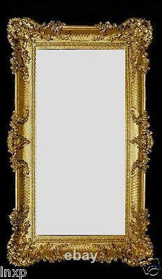 Wall Mirror Gold 96x57 Antique Baroque Rococo Shabby Chic Retro Design 3